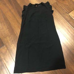 Ann Taylor loft black shift dress size 8 nwt